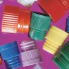 Plug Caps for 12 x 75 mm Tubes, Assorted Colours, 1,000/Pack