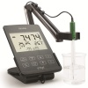 Hanna Instruments HI2020-01 pH Meter and Solutions