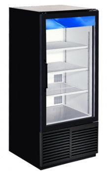 Swinging Glass Door, End-Cap Refrigerator