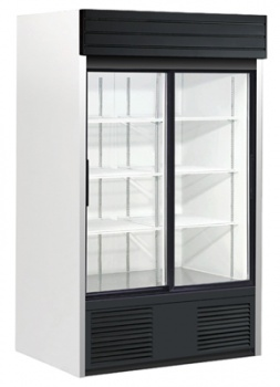 Double Sliding Glass Door, Bottom Mount Refrigerator