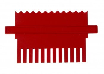 Dual Lane Reference Comb,1.0 mm Thick, Each
