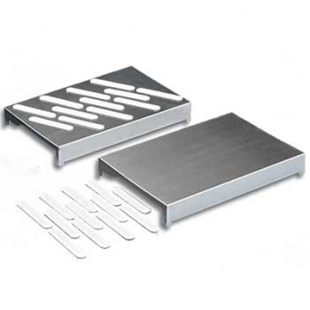 Expansion Kit (2 stainless steel trays, 24 bag mounting strips)